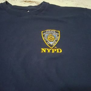 NYPD New York Police Department Official XL Tee